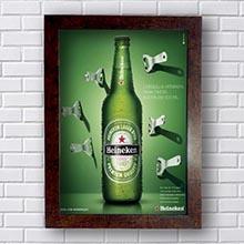 Quadro Decorativo Cerveja Heineken