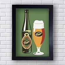 Quadro Decorativo Classic Beer