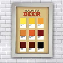 Quadro Decorativo Colors Beer