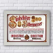 Quadro Decorativo Rotulo Beer