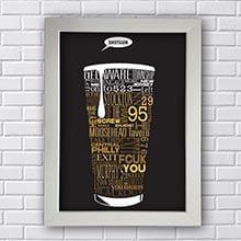 Quadro Decorativo Shotgun Beer