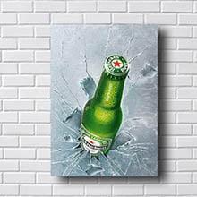Quadro Heineken Beer