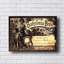 Quadro Vintage Beer Babylonia