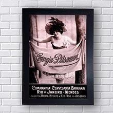 Quadro Vintage Brahma Pilsen