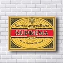 Quadro Vintage Brahma Suprema