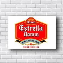 Quadro Vintage Estrela Damm