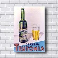 Quadro Vintage Teutonia Retro