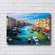Quadro Canais de Veneza