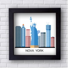 Quadro  Decorativo Nova York