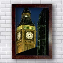 Quadro Londres Big Ben