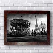 Quadro Paris Retrô