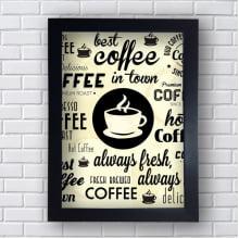 Quadro Decorativo Best coffee