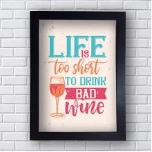 Quadro Decorativo TO DRINK