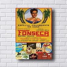 Quadro Vintage Fonseca Aguardente