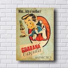 Quadro Vintage Guaraná Retro