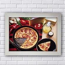 Quadros Vintage Cozinha Pizza