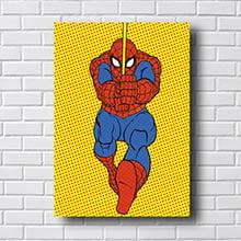 Quadro Homem Aranha Quadrinhos