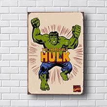 Quadro Hulk Quadrinhos