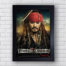 Quadro Piratas do Caribe