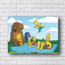 Quadro Simpsons