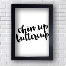 Quadro Decorativo Chin Up Butter Cup