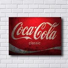 Quadro Decorativo Coca Cola Classic