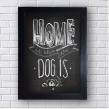Quadro Decorativo Dog Is