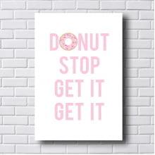 Quadro Decorativo Donut