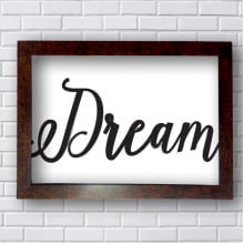Quadro Decorativo  Dream