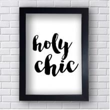 Quadro Decorativo Holy Chic