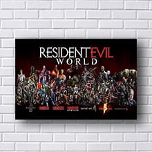 Quadro Resident Evil World