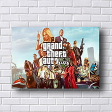 Quadro Grand Theft Auto V