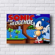 Quadro Sonic The Hedgehog