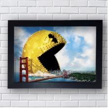 Quadro Decorativo Pac-Man