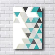 Quadro Decorativo Triângulos a Direita