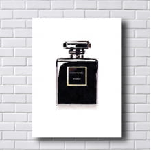 Quadro Decorativo Perfume Paris
