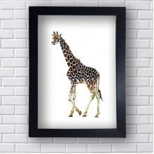 Quadro Decorativo Girafa