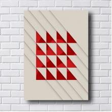 Quadro Decorativo Triangulos