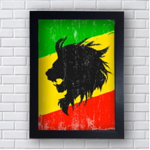 Quadro RASTA LION