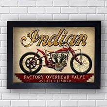 Quadro Decorativo Indian Overhead