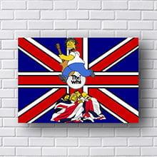 Quadro The Who Simpsons