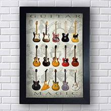 Quadro Guitarras Magic