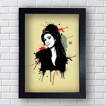 Quadro Amy Winehouse