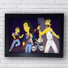 Quadro Queen Simpsons