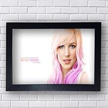 Quadro Poster Britney Spears