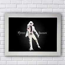 Quadro Poster Michael Jackson
