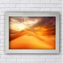 Quadro Decorativo Deserto