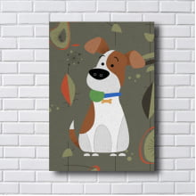 Quadro Decorativo DOG BEAGLE