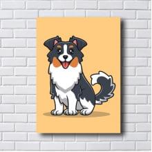 Quadro Decorativo DOG Bernese Mountain