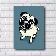 Quadro  Decorativo DOG PUG